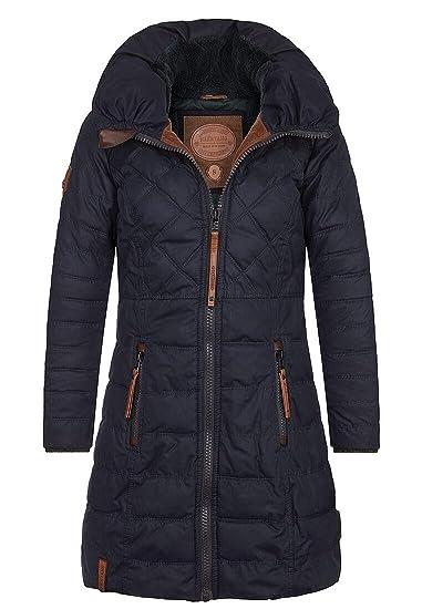 Naketano Female Jacket So eine Salamie Dark Blue, S: Amazon