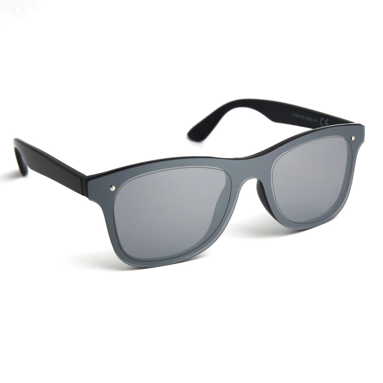 Amazon.com: JOOX reflectante sin montura anteojos de sol ...