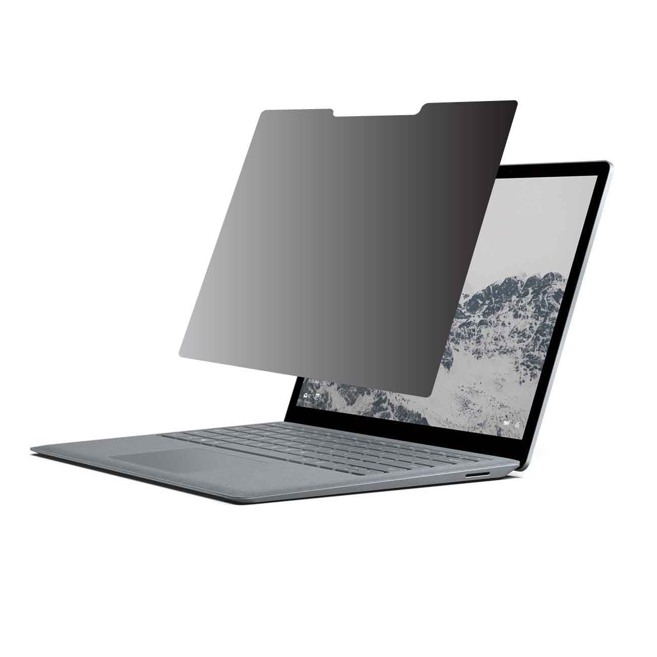 Privacy Screen Protector (360 Degree Privacy Protection) for Microsoft Surface Laptop (not Compatible with Surface Book) by EZ-Pro Screen Protector
