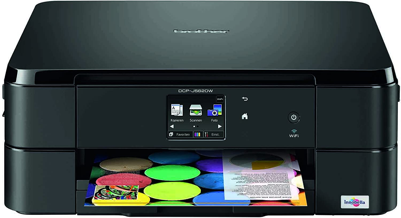 Brother DCP-J562DW - Impresora multifunción de Tinta - B/N 5.6 PPM ...