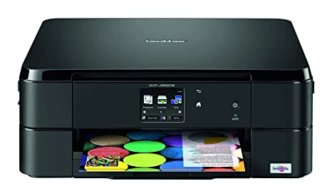 Brother DCP-J562DW - Impresora multifunción de Tinta - B/N 5.6 PPM, Color 2.7 PPM, Color Negro