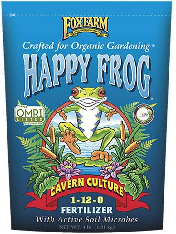 4lbs. Happy Frog Cavern Culture Organic Plant Fertilizer - New Package for 2019