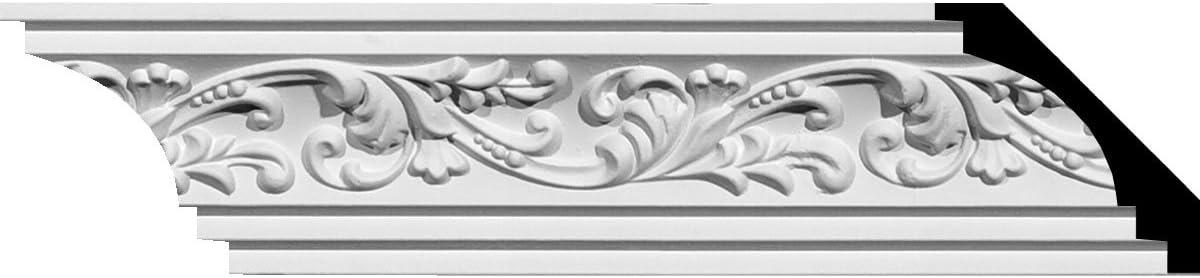 Ekena Millwork MOC02X02TN 2 3//4-Inch P x 2 3//4-Inch H Outside Corner for Moulding MLD02X02X04TN