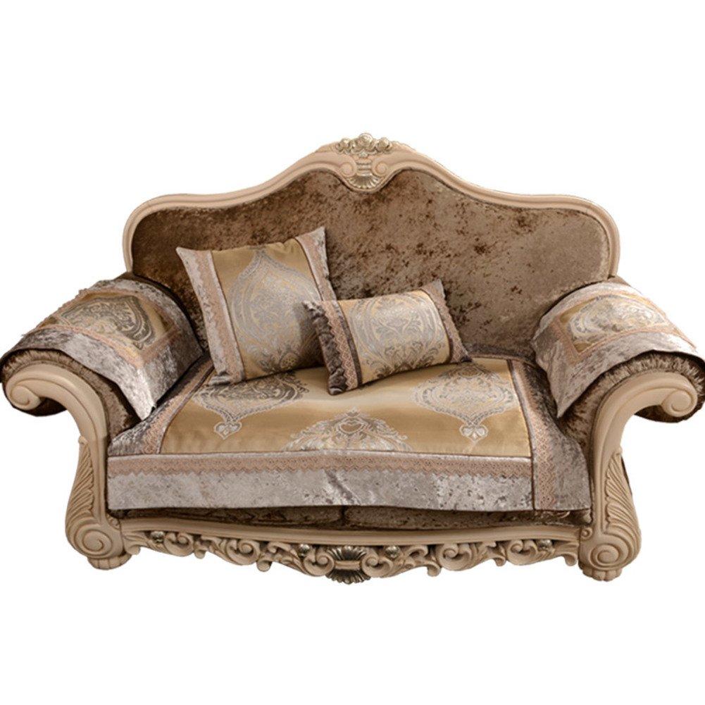 Slipcovers 35x83inch GDJVXCFV European-style Sofa Cushions ...