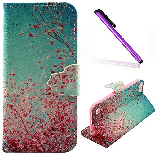 Wallet Case For Apple iPod touch 5/6 (Pink) - 2