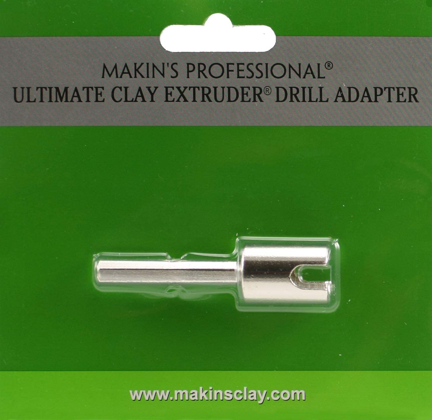 Makins USA Makins Professional Ultimate Clay Extruder Bohrer-Adapter Silber