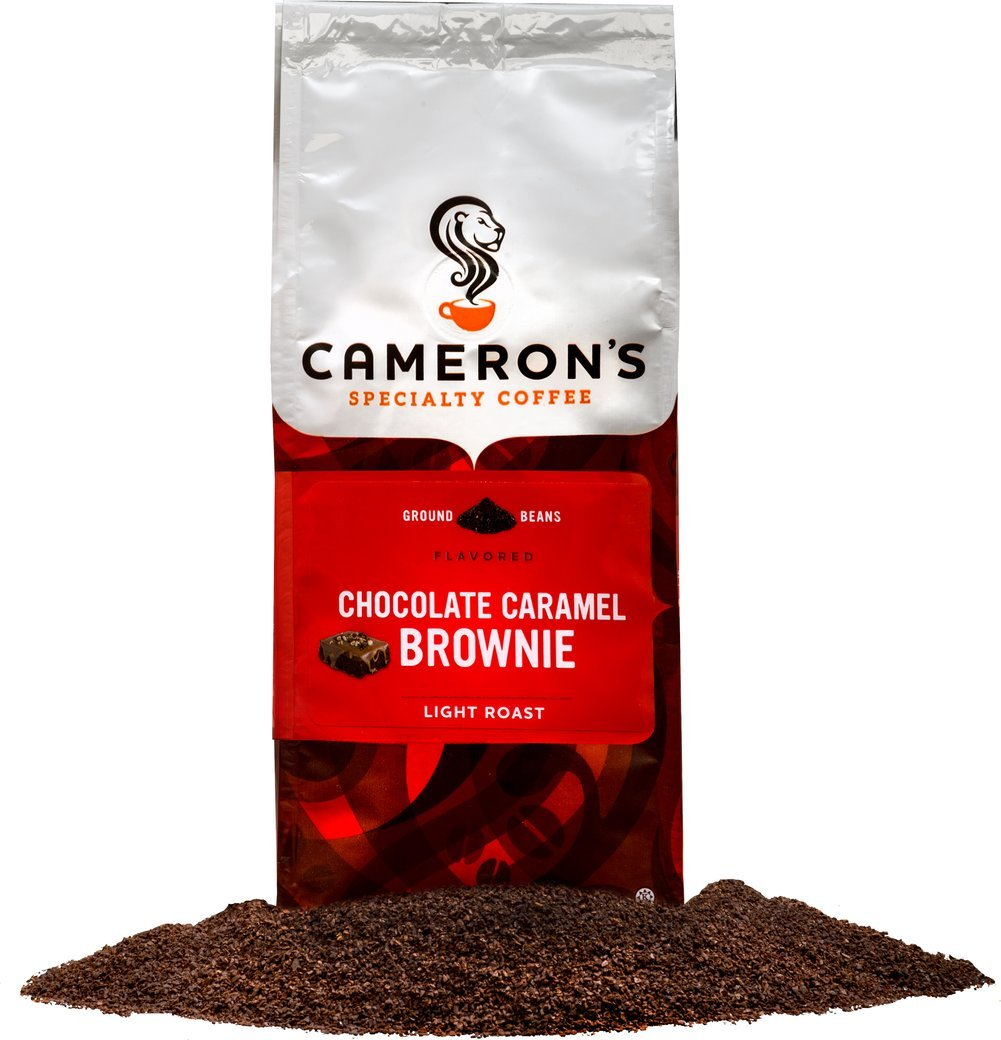 Cameron's Chocolate Caramel Brownie Ground Coffee-12 oz Bag