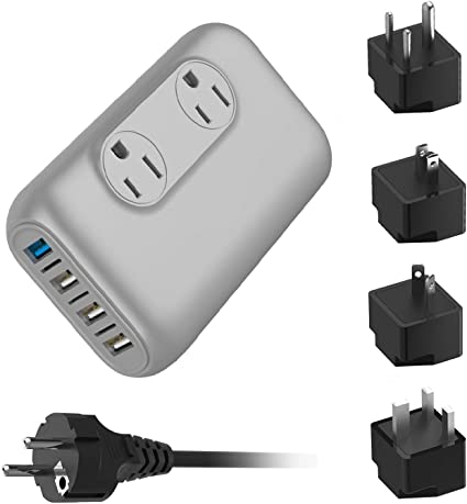 1x Professional 220//240V To 110//120V Power Voltage Electricity Adapter Converter