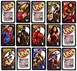 Mattel Games Uno Licensed Justice League Card Game