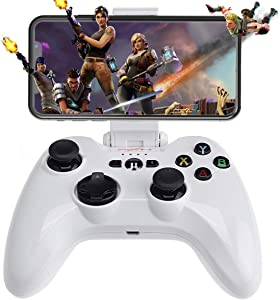 [MFi Certified] iOS Wireless Mobile Game Controller, Megadream Gampad Joystick Support for iPhone Xs, XR X, 8 Plus, 8, 7 Plus, 7 6S 6 5S 5, iPad, iPad Pro Air Mini, Apple TV - Direct Play