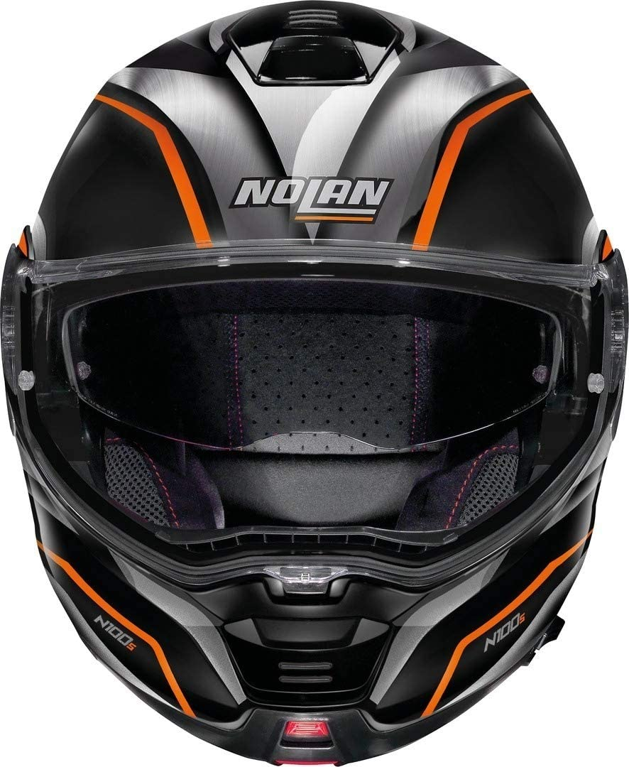 Nolan CASCO N100-5 BALTEUS N-COM XXS GLOSSY BLACK