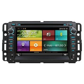 Maxtrons Car DVD GPS Navigation Stereo Headunit Radio for Chevrolet Chevy Tahoe Avalanche Suburban Silverado Impala