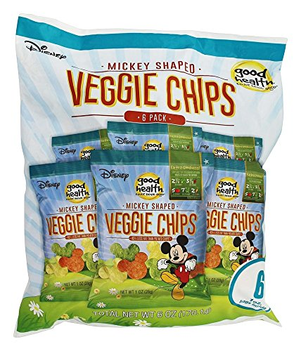 Good Health Chip Veggie Disney, 6 oz (Mickey Mouse Shaped Crackers)