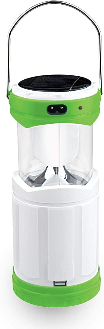 Impex Portable Solar Rechargeable Emergency Lamp (IL 696 GREEN)