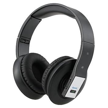 MFY&CZ - auriculares Bluetooth inalámbricos con micrófono, HiFi, con graves profundos, circumaurales,