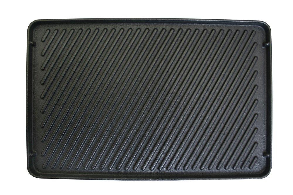 Swissmar Reversible Cast Iron Grill Plate for Raclettes by Swissmar