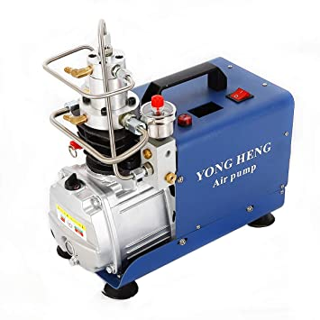 OBLLER Alta presión Bomba de Aire eléctrica PCP Compresor De Aire 4500psi Can Juego Pressure 1.8
