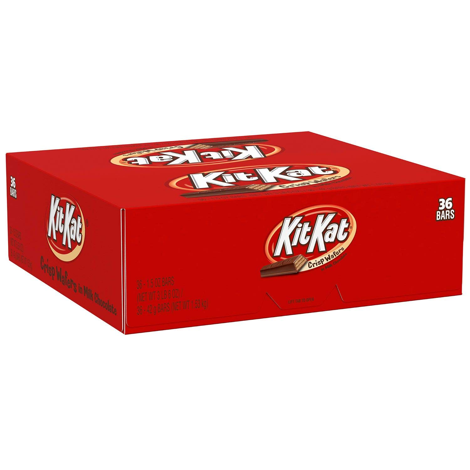 KIT KAT Bar (1.5-OZ Bars, Pack of 36)