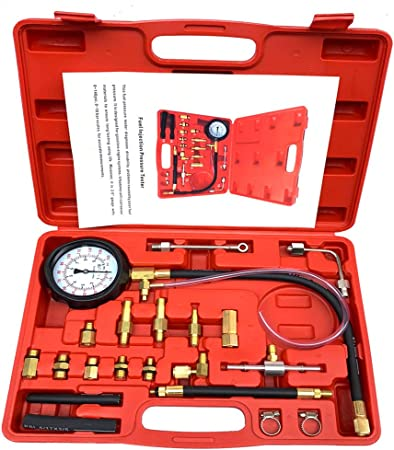 Hand Held Vacuum Pump/& Brake Bleeder Kit,Vacuum Tester Set,Car Tools Set
