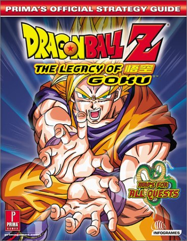 Dragon Ball Z: Legacy of Goku (Prima's Official Strategy Guide)