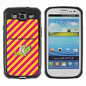 A-type Arte & diseño Anti-Slip Shockproof TPU Fundas Cover Cubre Case para Samsung Galaxy S3 III / i9300 / i717 ( Astronaut & Shark )