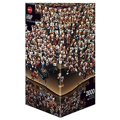 Loup 8660 Orchestra Puzzle Da 2000 Pezzi