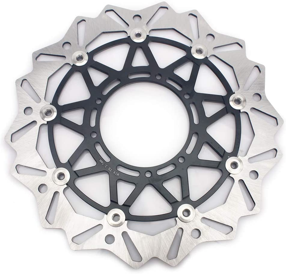 TARAZON Supermoto Front Brake Disc Rotor Bracket Adaptor Kit for Honda CRF250R CRF450R 2004-2013// CR125 CR250 2004-2008//CRF450 X CRF250 X 2004-2008