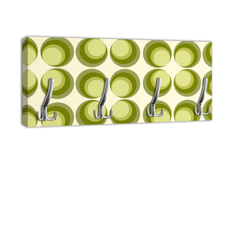 dalinda Perchero con diseño círculos Verde Pared Gancho ...
