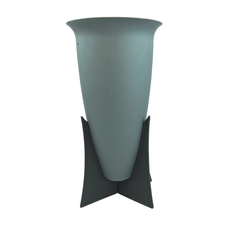 Bid Buy Direct® Memorial Cemetery Grave Flower Vase Funeral Ground Mount Spike Flower Display Pot