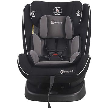 babyGo Freefix black Kinderautositz Isofix 9-36 kg NEU