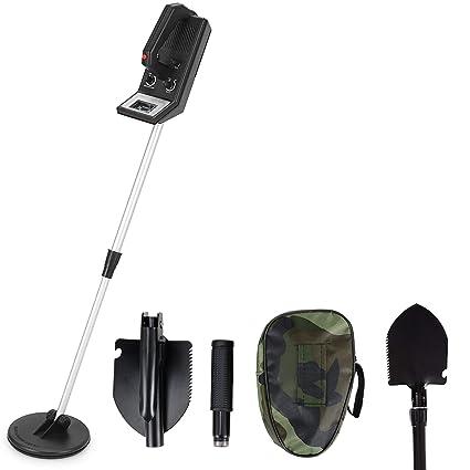 Voilamart - Detector de Metales para Tesoros (Incluye Bolsa de Transporte DE 16,5