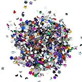 Coscelia 1000 Pcs Crystal Nail Art Mixed Flatbacks Rhinestones