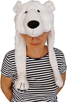 Seruna GmbH F54 Oso Polar. Sombrero para Disfraz de Oso Polar ...