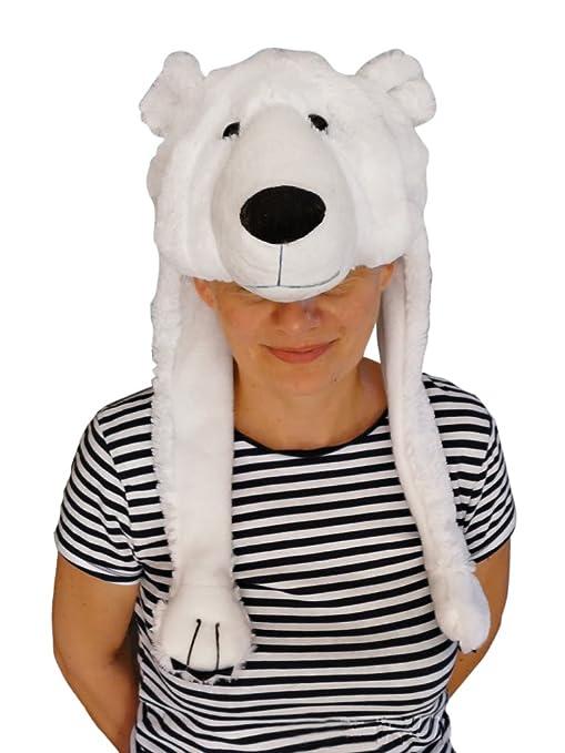 Seruna GmbH F54 Cappello Orso Polare Costume da Orso Costume da adulto  Costumi carnevale 1264a0a0df03
