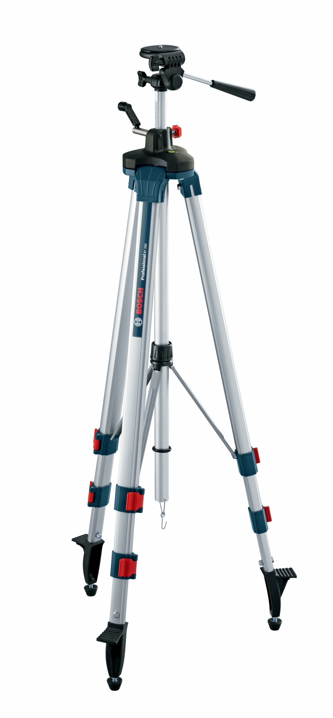 Bosch Professional Aluminum Elevator Tripod with Adjustable Legs BT 250