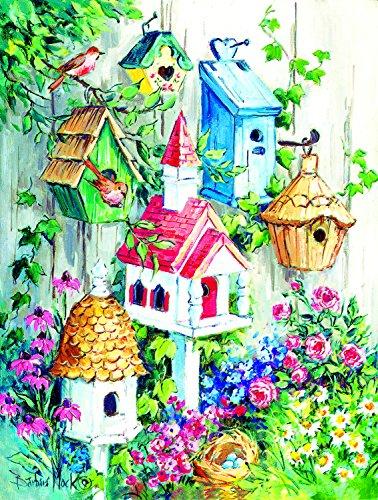 Grandma's Birdhouses 500 Piece Jigsaw Puzzle by SunsOut
