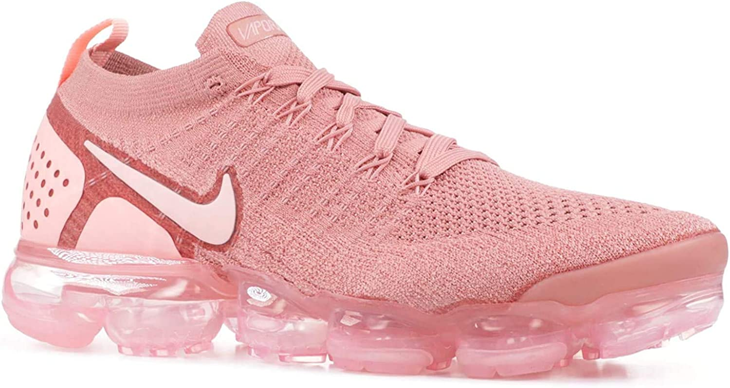 Nike W Air Vapormax Flyknit 2, Scarpe Running Donna Multicolore Rust Pink Storm Pink Pink Tint 600