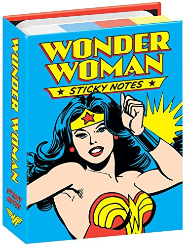 DC Comics Wonder Woman Sticky Notes Booklet - By The Unemployed Philosophers Guild (Wonder Women)