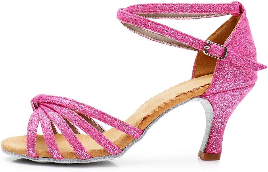 TRIWORIAE Womens Ballroom Latin//Standard Dance Shoes Sandals