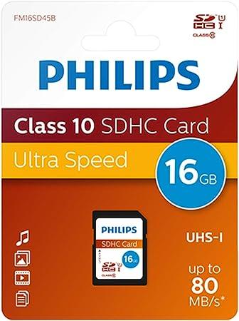 Philips Sd Karte Class 10 16 Gb Sdhc Computer Zubehör