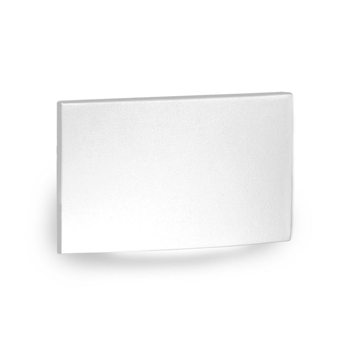WAC Lighting 4031-30WT WAC Landscape LED Low Voltage Horizontal Scoop Step and Wall Light 3000K in White
