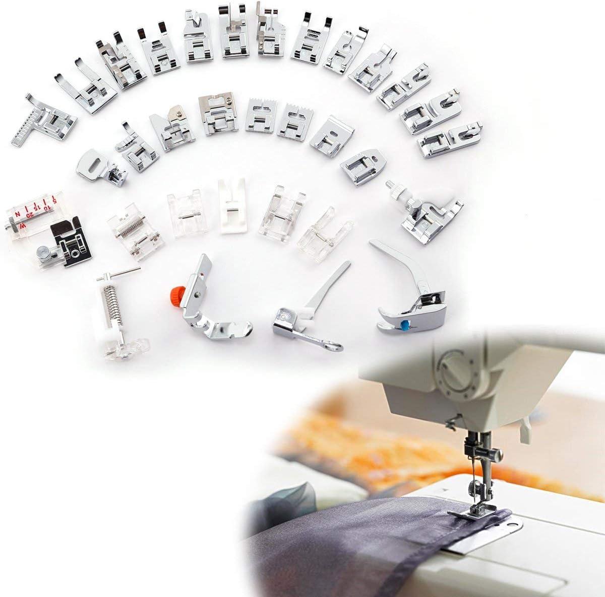3T6B 32 Pcs Kit Prensatelas Universal Multifuncional Pie de ...