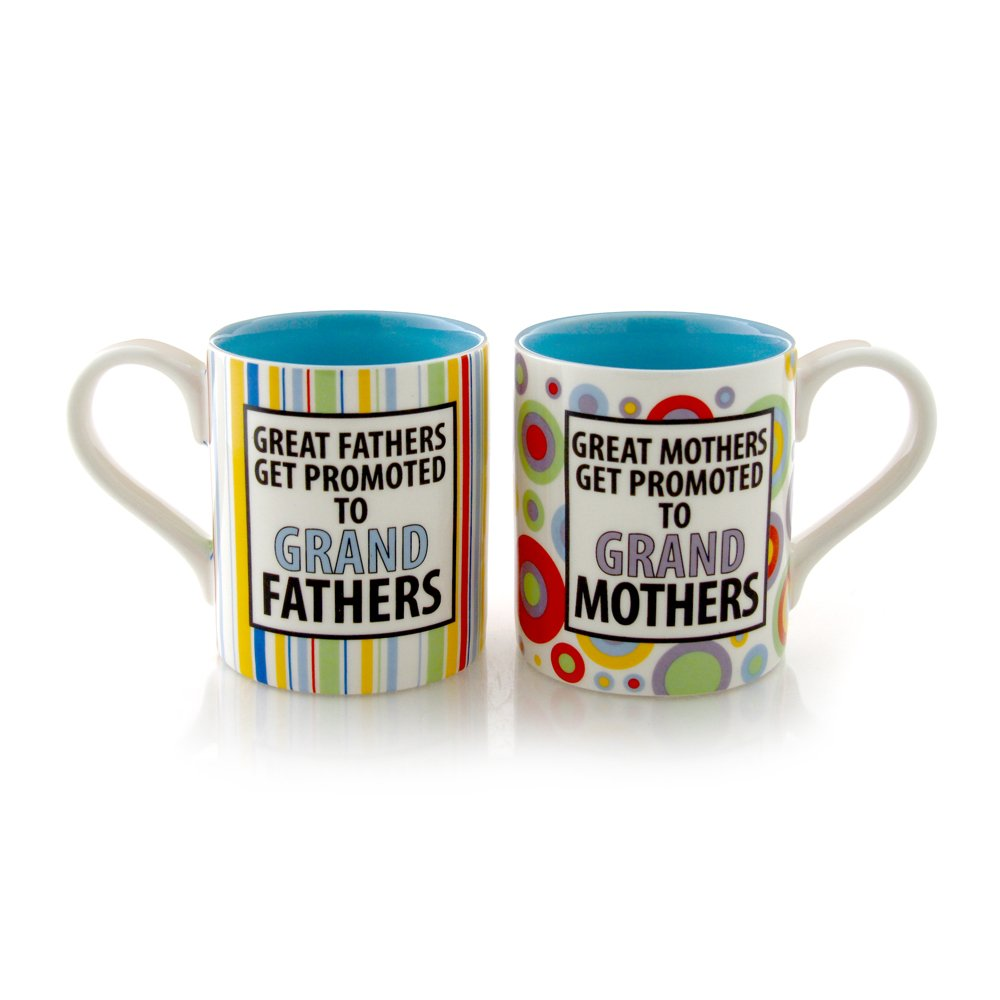 Our Name Is Mud Grandparents are Great Mug Set by Lorrie Veasey