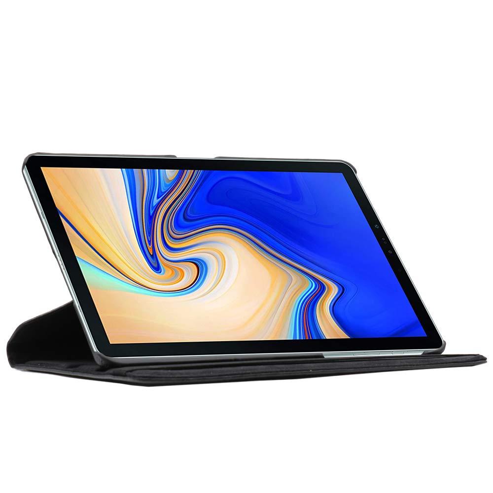 kompatibel Samsung Galaxy Tab S4 10.5 H/ülle SM-T830 SM-T835 Rotierend Schutzh/ülle Etui ebestStar Schutz H/ülle St/änder Rotating Case Stand Panzerglas Schwarz Tab: 249.3 x 164.3 x 7.1mm 10.5