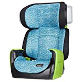 Evenflo Spectrum 2-In-1 Booster Car Seat, Varsity Blue