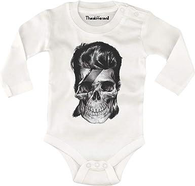 Body-bébé tête de mort 5
