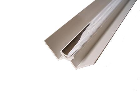 Chrome Panel Trim Perfect For Bathroom Kitchen Shower Wall PVC Cladding  Panels 5mm Internal Corner