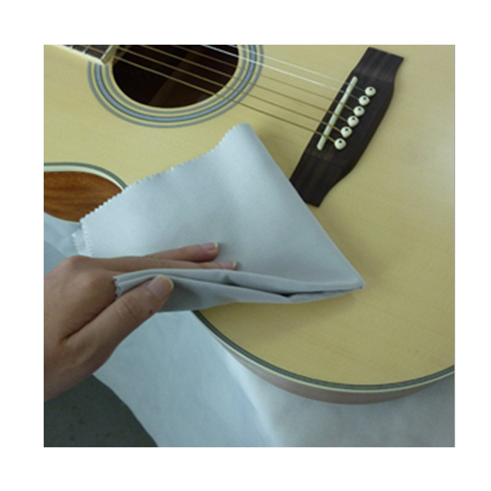 Gray Muxico 1 PC Guitar Polishing Cloth