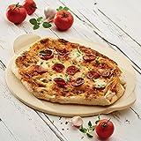 Rachael Ray Cucina Ceramic Pizza Baking Stone, 13.5-Inch Round, Cordierite