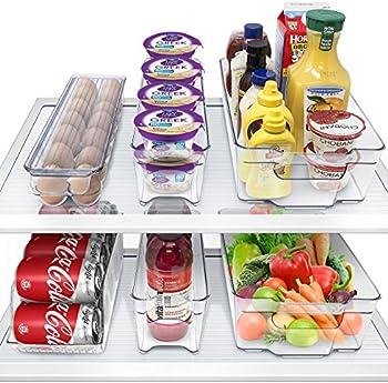 6-Piece Sorbus Fridge Bins & Freezer Storage Containers